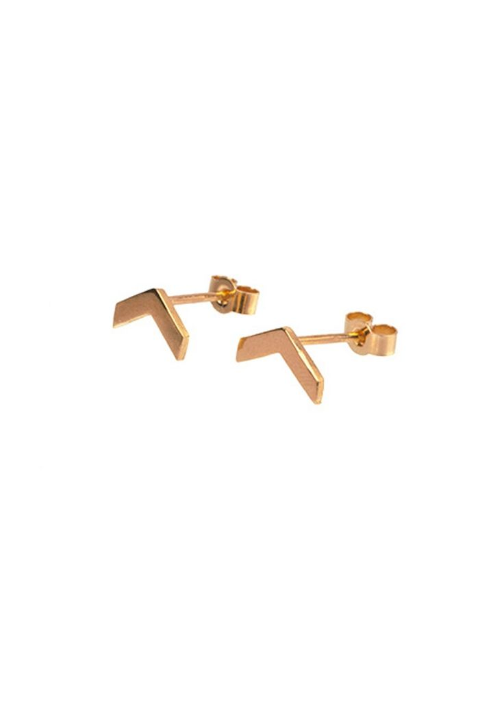 Orvar handmade rosegold earrings - Just Fashion