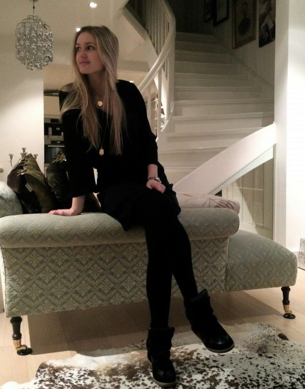 me at home with my new Isabell Marant shoes