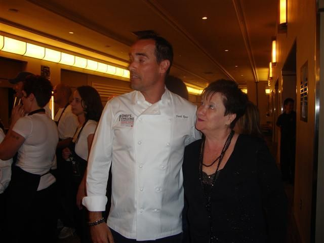 Chef Rocco with cookbook author Helen M. Radics - visit website http://besthungarianrecipes.sharepoint.com