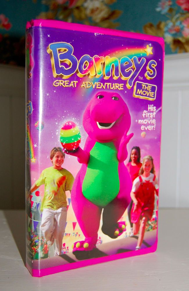 Best Barney VHS Images On Pinterest Vhs Tapes Dinosaurs And - Barney concert vhs