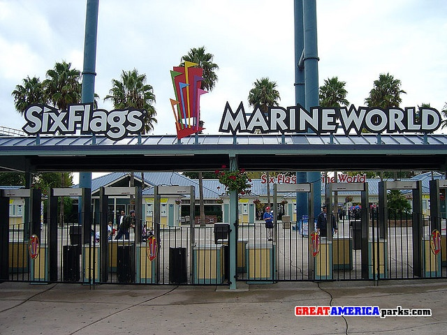 Six Flags Marine World - Vallejo, California
