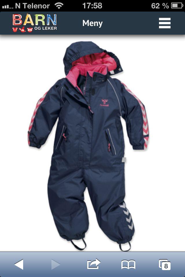 Hummel vinterdress hos barnogleker.no #barneklær  #nettbutikk #kvalitet #merkevare