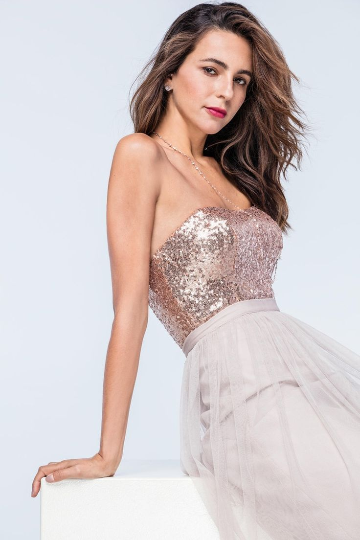 Watters Annette Bustier, Style 2307, Rosegold, Size 8, $194 available at Debra's Bridal Shop, 9365 Philips Hwy., Jacksonville, FL 32256. 904-519-9900.