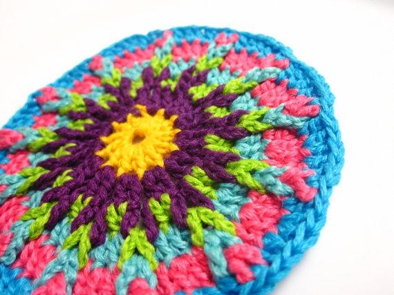 crochet applique/circular