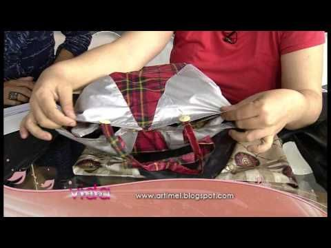 Transformar um Guarda Chuva num Saco de Compras - Costura com Riera Alta - YouTube