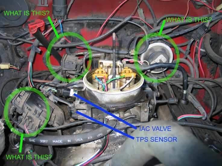 1988 ford e350 wiring diagram how to make an er for database tbi idle adjustment question - chevytalk free restoration and repair help your chevrolet ...
