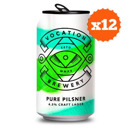 Vocation Brewery Full Case Deal: Pure Pilsner – Buy Beer online on EeBria.com