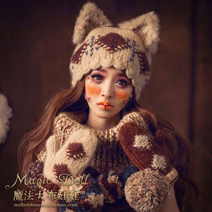 Vintage Mori Girl Sweet Lolita Kawaii Cat Ears Winter Warm Princess Beret Hat  | Clothing, Shoes & Accessories, Women's Accessories, Hats | eBay!