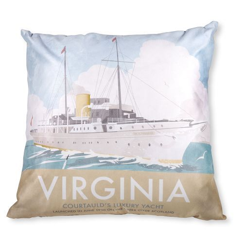 Virginia Cushion from Star Editions. Buy from the online gift shop at English Heritage.