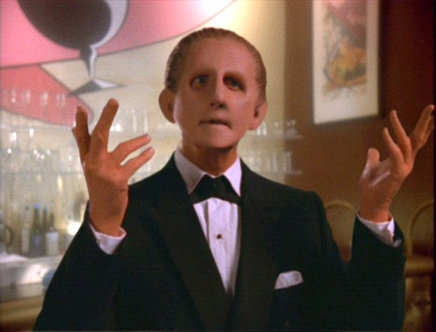 Can we just marvel for a second at Rene Oberjonois and Odo?  What a terrific job he did, taking what was often written as a one-note character and giving him layers.. all while wearing layers of makeup and prosthetics.
