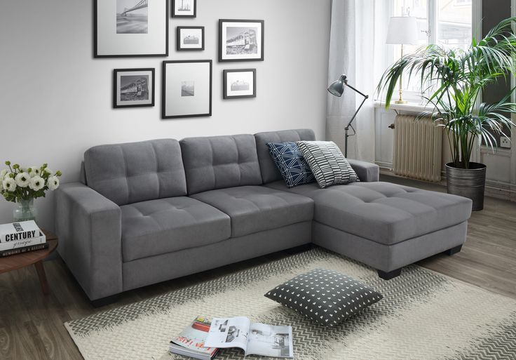 Rome L Shape - by Discount Decor. Contact us 011 616 2026/8 or 081 407 5053 (Johannesburg, South Africa) #furniture #lounge #loungesuites #couch #Lcouch