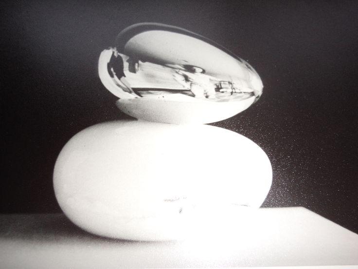 """""""EGG""""-Bronze-onyx- 8""""x8""""x9""""-Vancouver 1976"""