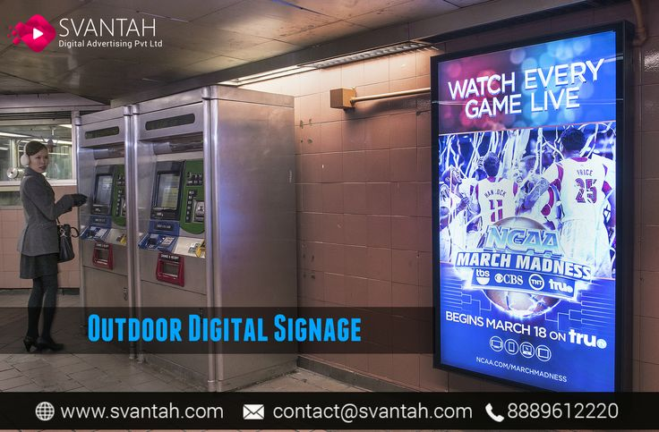 Svantah- Get the most available and #Outdoor #Digital #Signage Solutions in India