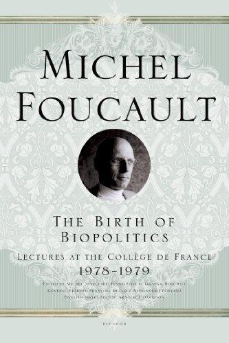 The Birth of Biopolitics: Lectures at the Collège de France, 1978--1979 (Lectures at the College de France) by Michel Foucault, http://www.amazon.com/dp/0312203411/ref=cm_sw_r_pi_dp_1P3Wrb0K9QKVR