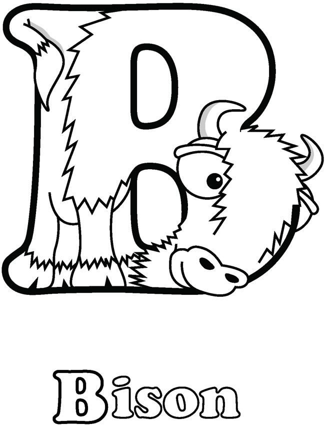 Ndsu Bison Coloring Page | Coloring Pages