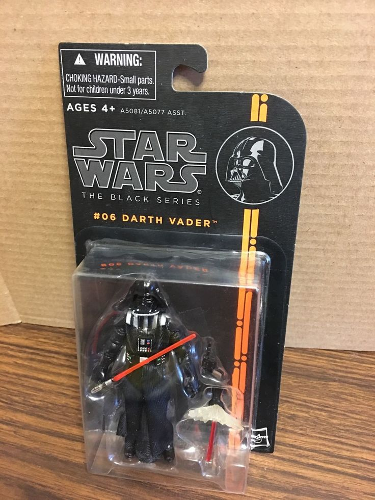 Star Wars THE BLACK SERIES DARTH VADER 3.75 Action Figure #06 Brand New Sealed!