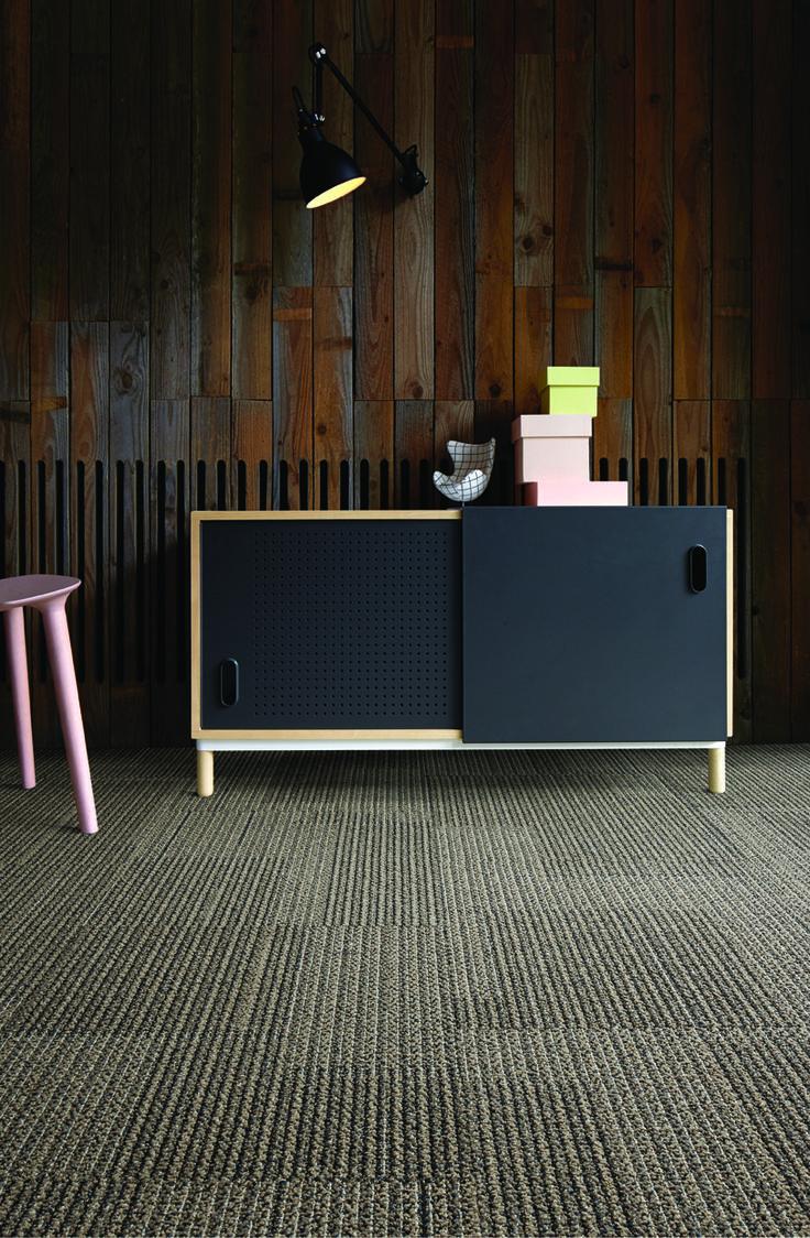 Knit One, Purl One, colour Linen Stitch, Interface, Carpet tiles
