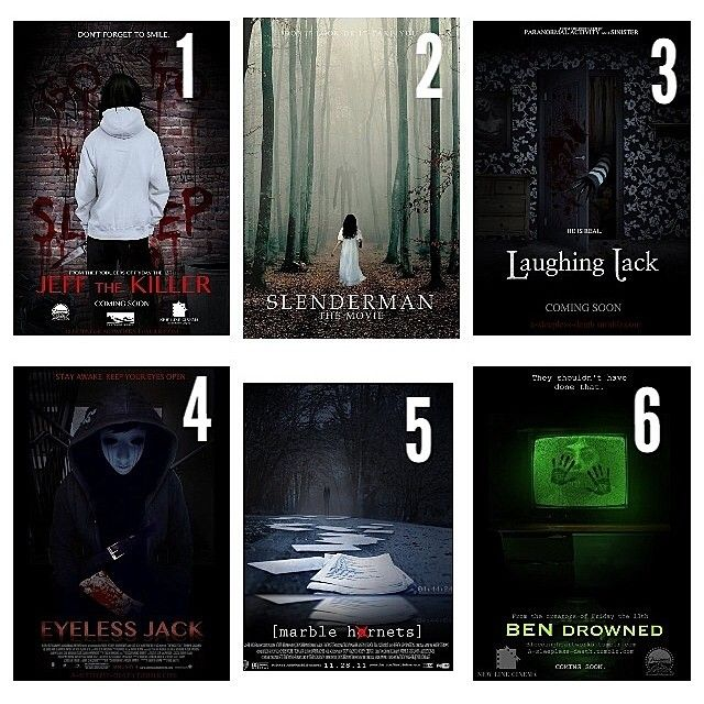 If there are creepypasta movies, I will watch all of them.