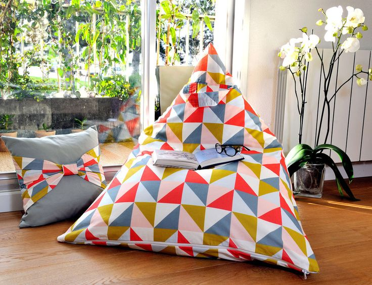 Faire un pouf berlingot!
