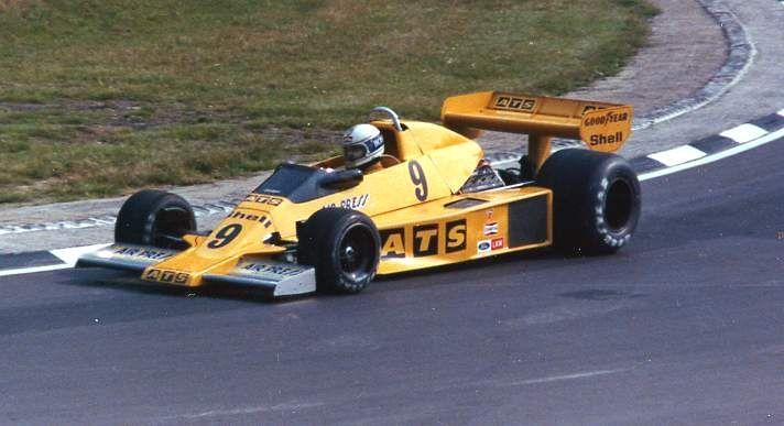 1978 ATS HS1 - Ford (Jochen Mass)