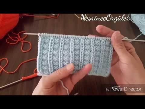 Bebek Battaniyesi Sıralı Modeli Yapılışı Videolu Anlatımlı