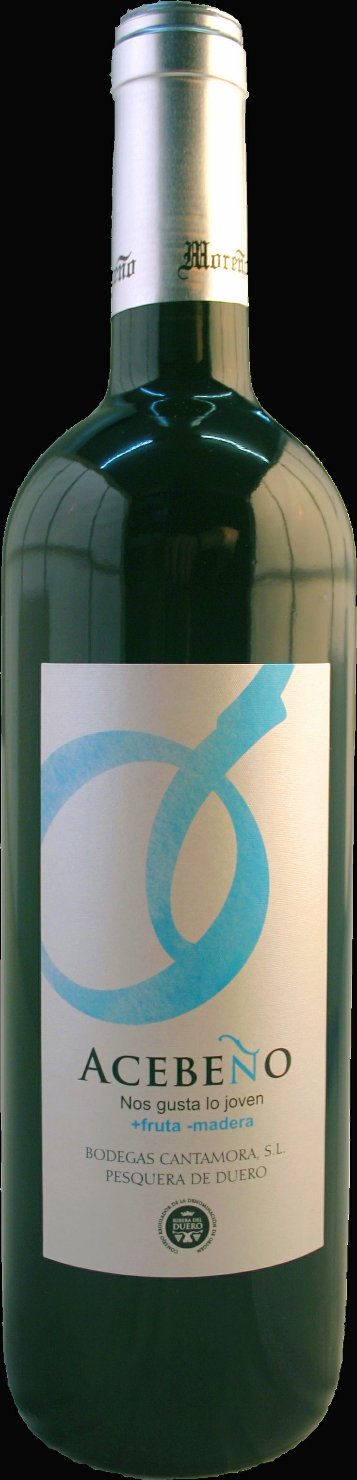 Vino tinto joven barrica, D.O. Ribera de Duero. Pesquera de Duero, Acebeño. Servimos en cajas de 6 botellas, 3/4 .
