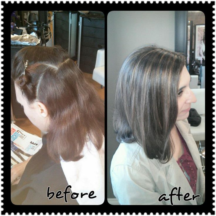 Caramel Highlights Aka Grey Hair Camouflage Zen S