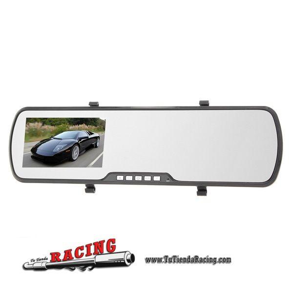 Espejo Retrovisor Interior con Cámara Modelo H72 Pantalla de 4.3 Pulgadas TFT LCD 1080P DVR - Envío gratuito a toda España en todos los productos - 90,61€
