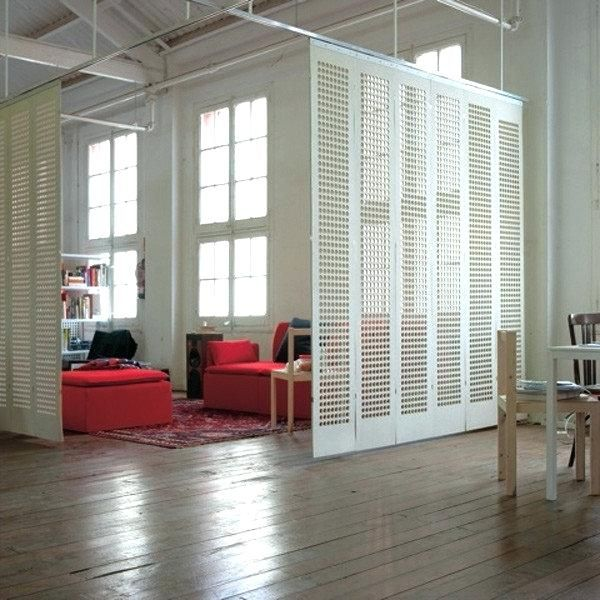 Ikea Ceiling Curtain Track Interesting Screen Room Divider Small Space Solutions For Hanging Divider Ikea Room