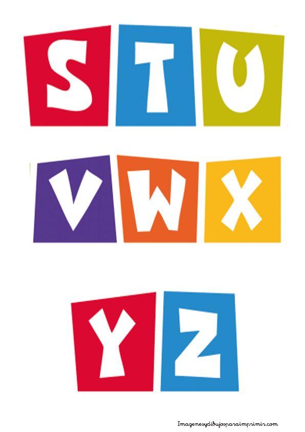 Letras para hacer su nombre  Letras pocoyo para imprimir