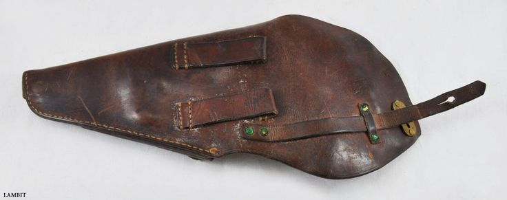Original military leather holster for LAHTI M/40 from Swedish Army WWII - USED | eBay