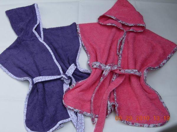 Bata de baño infantil - Corte y costura