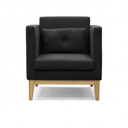 Fauteuil Day Gris Anthracite - Design House Stockholm