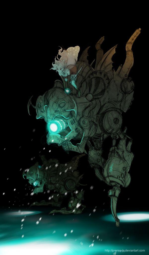 """""""FF6 - THE MISSION IN NARCHE"""" by prema-ja // DeviantART"""