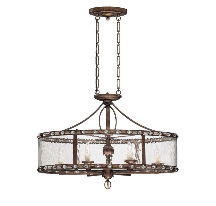 The Savoy House Paragon 6-light trestle light is an exciting bejeweled Brian Thomas  sc 1 st  Pinterest & 45 best Kitchen Lighting Options images on Pinterest | Kitchen ... azcodes.com