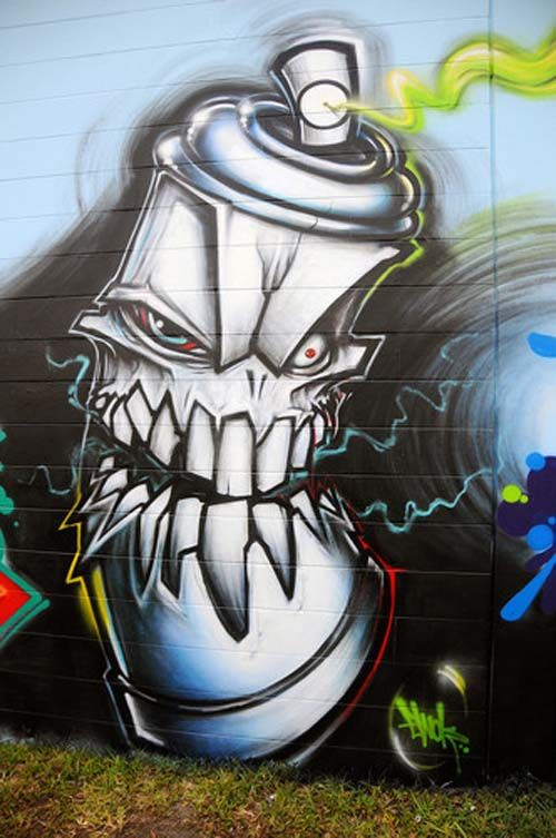 Street Art Graffiti | graffiti street art always fun check out the link below to a graffiti ... #hiphop #beats updated daily => http://www.beatzbylekz.ca/