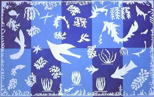 Matisse / Figura fundo