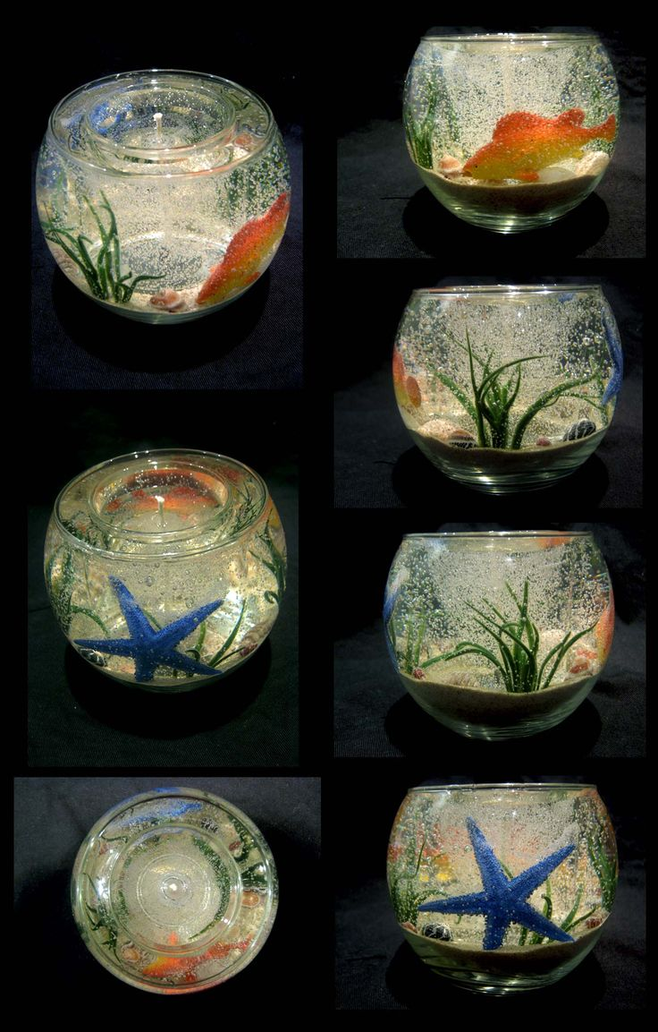 Aquarium Gel Candle                                                       …