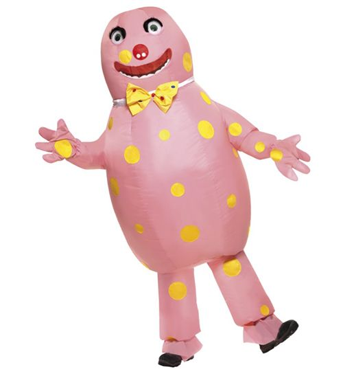 Mens Mr Blobby Fancy Dress Costume Oh joy of joys! This must be one of the most entertaining fancy dress costumes of all time! Remember Saturday nights glued to Noels House Party? The classic TV show which launched Mr Blobby, who you e http://www.MightGet.com/february-2017-3/mens-mr-blobby-fancy-dress-costume.asp
