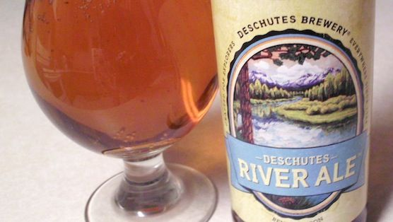 """Paste Magazine says our Deschutes River Ale """"at only 4% ABV, is prototypically great session beer."""""""