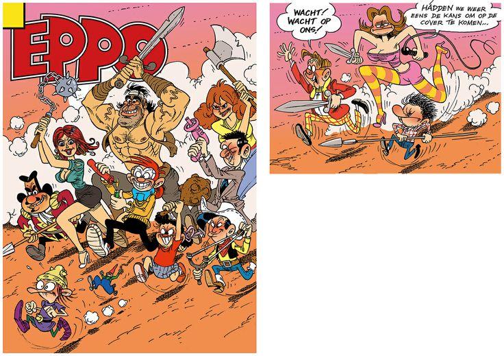 Mars Gremmen - Eppo stripblad