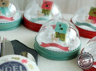 Snow Globe Place Settings by Betsy Veldman for Papertrey Ink (September 2014)