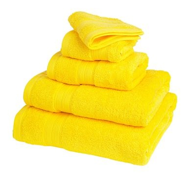 Fresh yellow towels - bright!