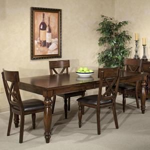 Kingston Dining Leg Table By Intercon At Wayside Furniture