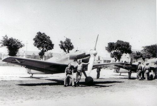 Rare image of an early Luftwaffe Messerschmitt Bf-109 B in Spain during the Spanish Civil War, 1936.
