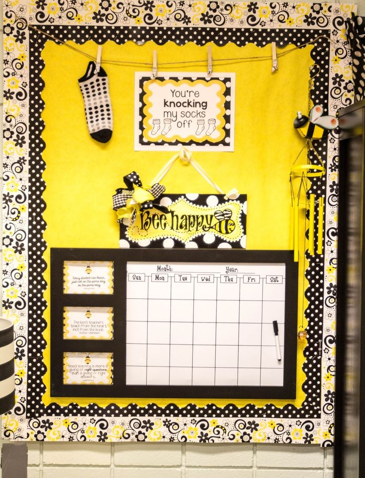 Yellow Classroom Decor ~ Best bee themed classroom images on pinterest bees