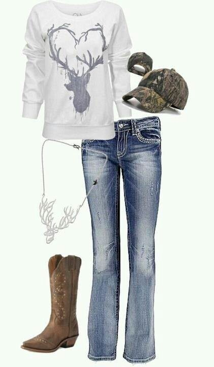 Country girl style ♡
