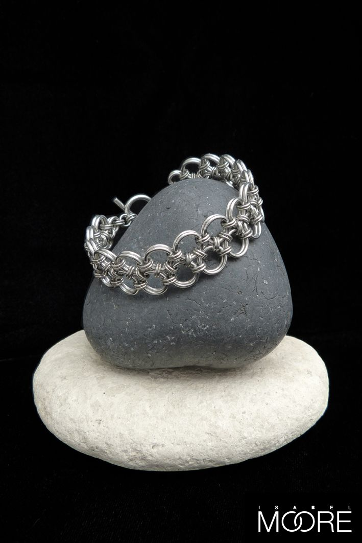 Orient Duo Bracelet handmade from Stainless Steel. http://isabelmoore.com/products/orient-duo-bracelet