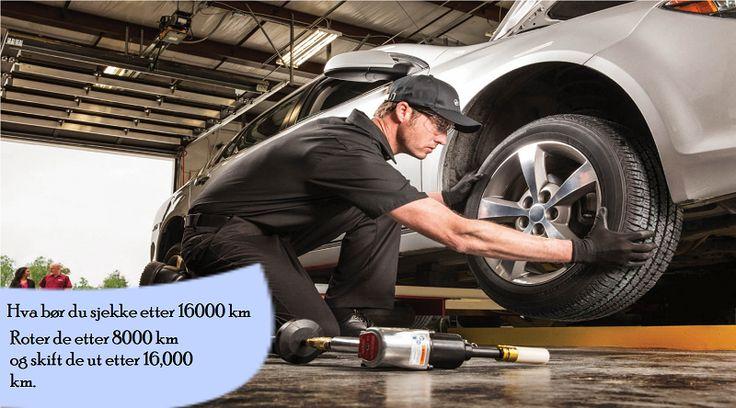Vedlikeholdsoppgaver hver 16,000 km Å rotere dekkene er kritisk for rutinekontroll og kjøretøy vedlikehold. #sommerdekk