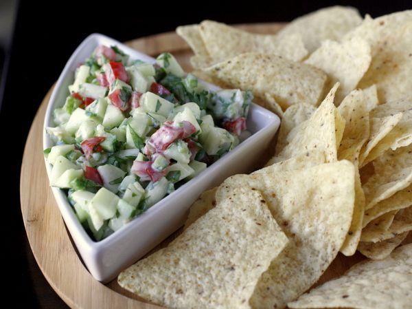 Crisp Cucumber Salsa | What Megan's Making